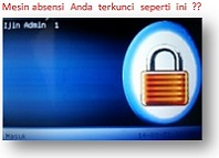 Cara Reset Password Mesin Absensi Finger Print
